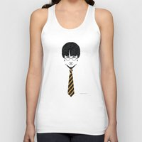 potter Tank Tops featuring Iconic Potter by Arne AKA Ratscape