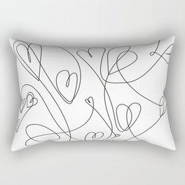 love will keep us together Rectangular Pillow