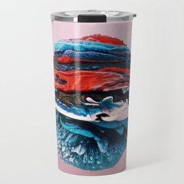 ACRYLIC BALL ABSTRACT // 3D ABSTRACT Travel Mug