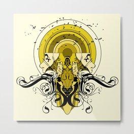 TONGUES Metal Print