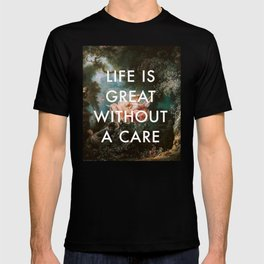 Swing Without A Care T-shirt