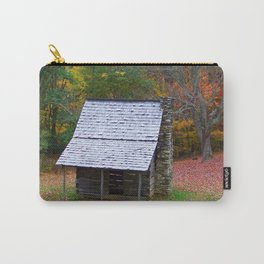 Autumn Blue Ridge Cabin Carry-All Pouch