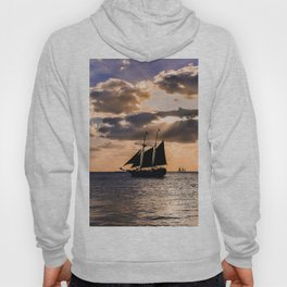 Sunset in Key West, Florida Hoody