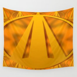 Sun sign ... Wall Tapestry