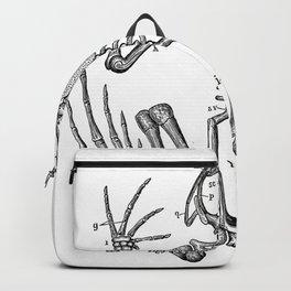 Frog skeleton Backpack