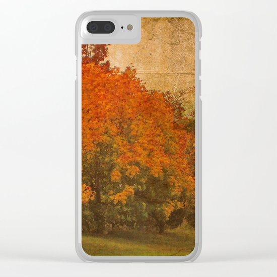 Shorter Days Clear iPhone Case
