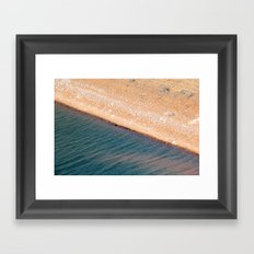 Abiquiu Line Framed Art Print