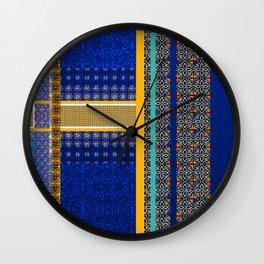 Moroccan Borders Wall Clock
