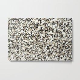 Snow Geese Migration Metal Print