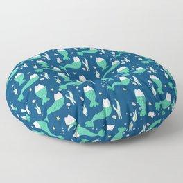 Mer-cat Floor Pillow