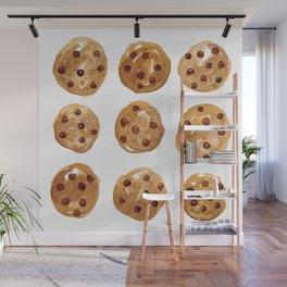 Watercolor Cookies Wall Mural