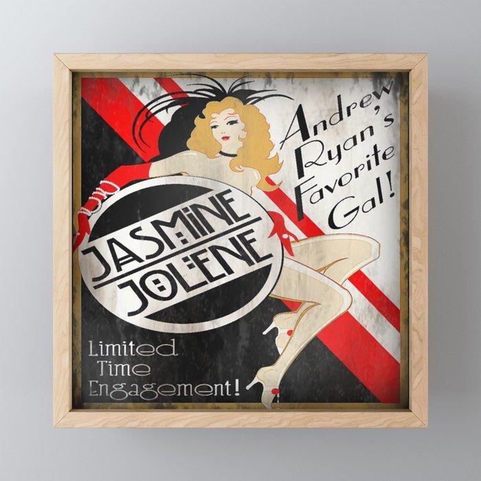 Bioshock - Rapture Poster - Jasmine Jolene Framed Mini Art Print