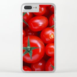 Tomatoes for everyone! Clear iPhone Case