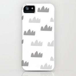 Minmaistic art iPhone Case