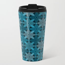 Op Art 133 Metal Travel Mug