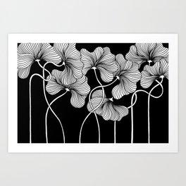 Flowers for Japan Art Print