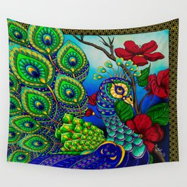 Peacock ZIA Wall Tapestry