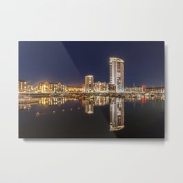 The Meridian tower Metal Print