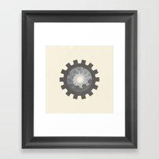 The Gate of Time Framed Art Print