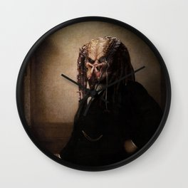 Predator - Portrait (As a Nobleman) Wall Clock