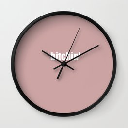 "Stranger ""Bitchin"" Things 2 Wall Clock"