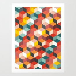 Fair and Square Art Print