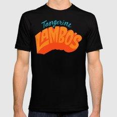 Tangerine Lambo's Black MEDIUM Mens Fitted Tee