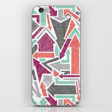 Patterned Arrows iPhone Skin