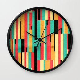 Kiko Pattern Wall Clock