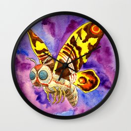 Mothra : Death from above Wall Clock