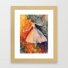 Moonlight Ballet Framed Art Print