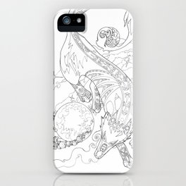 Gern Finds A World iPhone Case