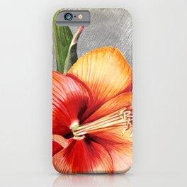 Macro Flower #5 iPhone Case