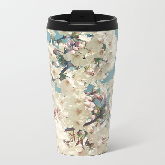 Buds in May Metal Travel Mug