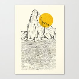 Sun Cliffs Canvas Print