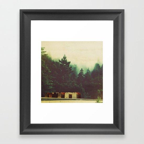 sur town Framed Art Print