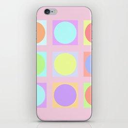Pastel Dots iPhone Skin