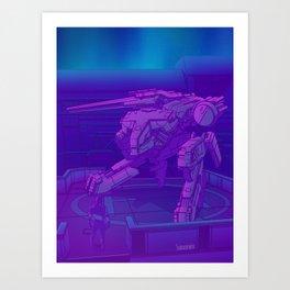 Shadow Moses Art Print