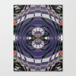 Wart Eye Pattern 7 Canvas Print