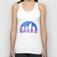 guardians of the galaxy Tank Tops featuring Guardians of the Galaxy - Color by Comix