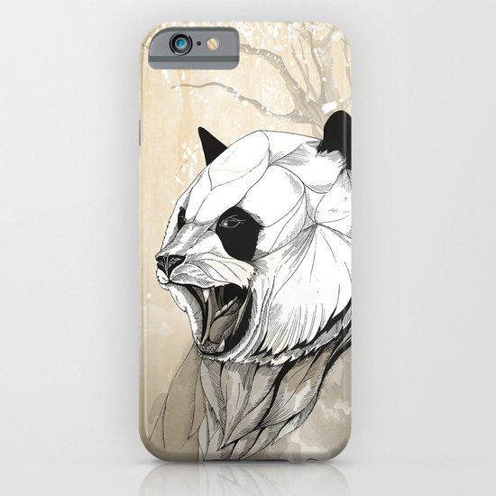 Angry Panda iPhone & iPod Case