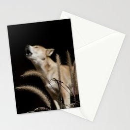 Howling to the Moon Stationery Cards