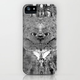 Watercolor Anthropomorphism 82 iPhone Case