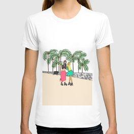 Babes 'n Skates T-shirt
