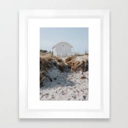 Salty Summer - Landscape and Nature Photography Framed Art Print