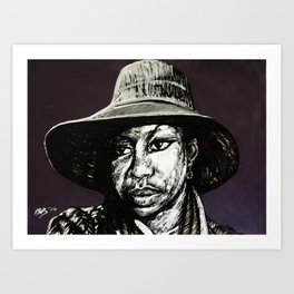 Nina Simone #4 (Peaches) Art Print