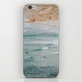 summer waves xiv iPhone Skin