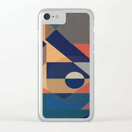 Shilly-Shally Clear iPhone Case