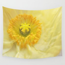 Icelandic Poppy Sweetness Wall Tapestry