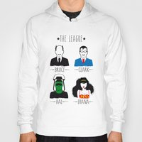 league Hoodies featuring THE LEAGUE by kravic